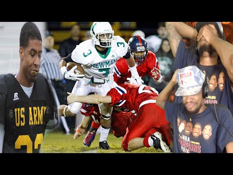 GREATEST WR EVER? ODELL BECKHAM JR HIGH SCHOOL HIGHLIGHTS REACTION!