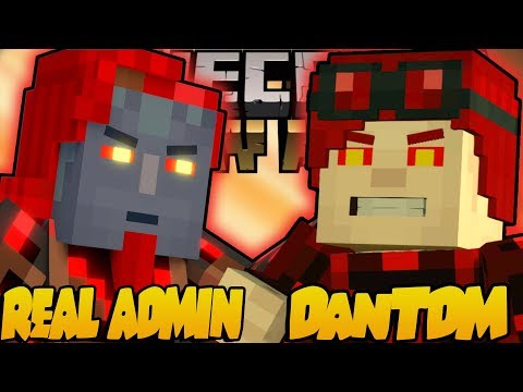 REAL ADMIN VS ADMIN DanTDM !! - Minecraft Story Mode: Episode 2