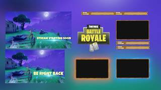 FORTNITE - ANIMATED OVERLAY