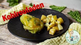 Kohlrouladen mit Kartoffeln und Sauce im Thermomix