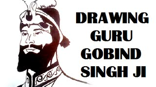 How to Draw Guru Gobind Singh Ji