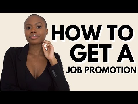 How To Get Promoted At Work L 5 Tips To Land A Job Promotion