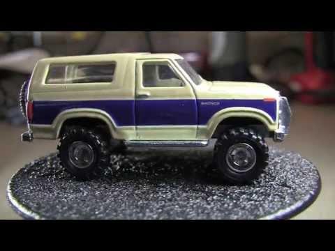 '85 Ford Bronco 4x4 : Hot Wheels Boulevard P Case X3091 956P