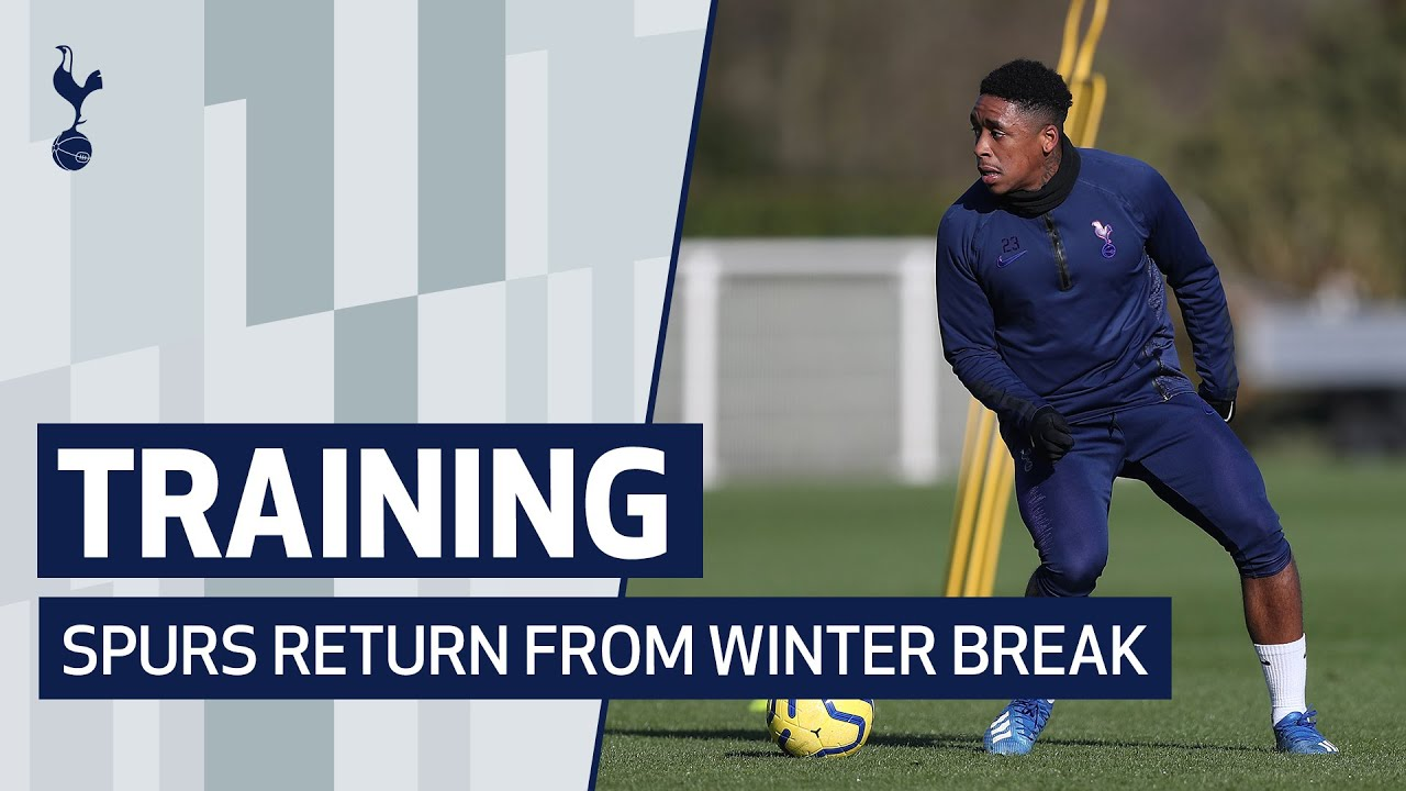 TRAINING | SPURS RETURN FROM WINTER BREAK AHEAD OF VILLA