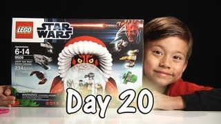 Day 20 LEGO STAR WARS Advent Calendar 2012 Review Set 9509 - Stop Motion & FREE CODE