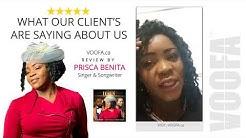 Toronto Web Design Review - VOOFA Marketing Digital Agency by Prisca Benita - Singer VOOFA.ca