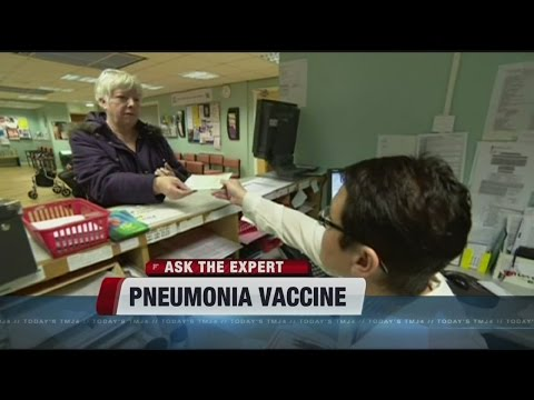 There's a new pneumonia vaccine for adults