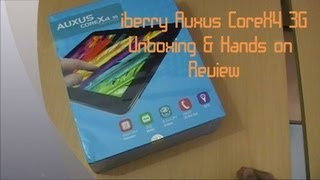 iberry Auxus CoreX4 3G Unboxing and Hands On Review