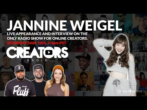 Jannine Weigel LIVE on @CreatorsRadio | Powered by DASH