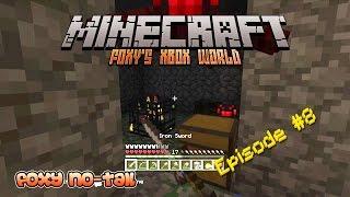 Minecraft Xbox [8] - Saddles from the Spider Spawner