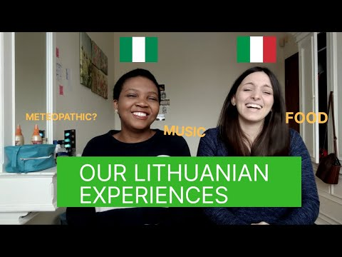 Lithuania from a Nigerian and Italian's perspective. Cultural Differences and Similarities