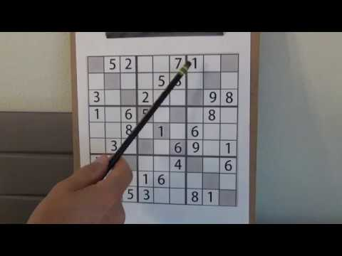 EXTREME Sudoku Puzzles - How to Solve