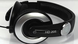 Sennheiser HD 205 Headphones Review