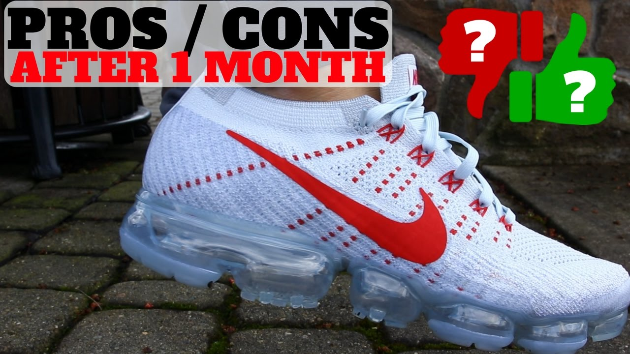 17408ca9d10 1 MONTH AFTER WEARING NIKE AIR VAPORMAX  PROS   CONS - YouTube