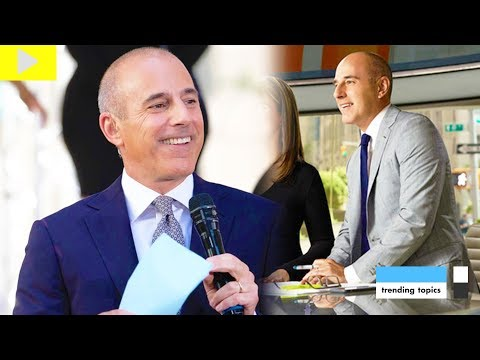 *DETAILS* Matt Lauer Gave Sex Toys To Staff and Exposed Himself, Matt Lauer Sexual Misconduct thumbnail