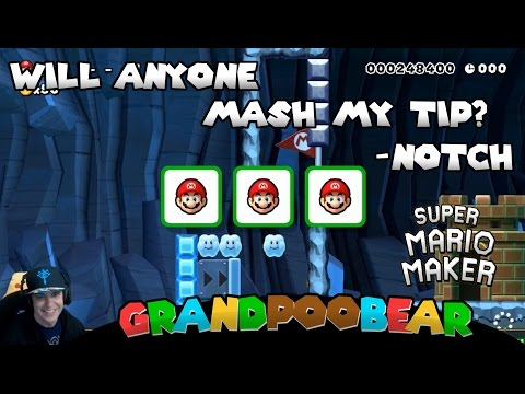 Glitches And Hot Garbage: 100 Man Super Expert Mario Maker