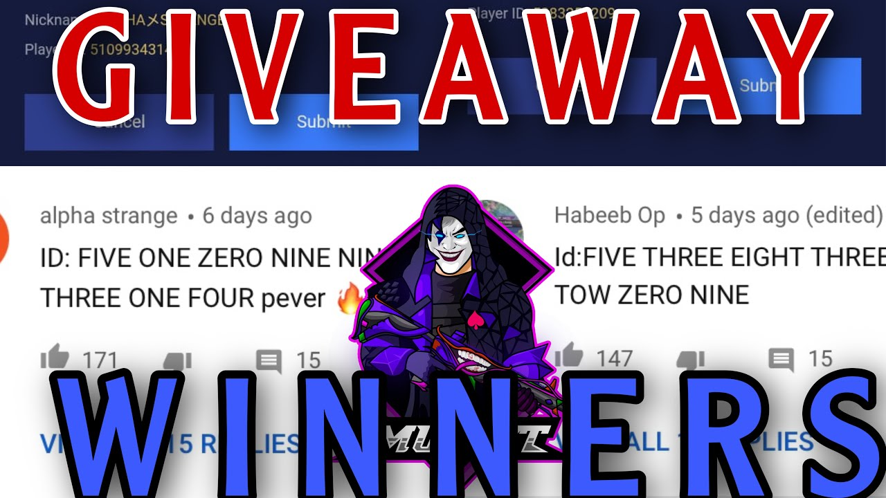 ROYAL PASS || GIVEAWAY WINNERS || IS HERE