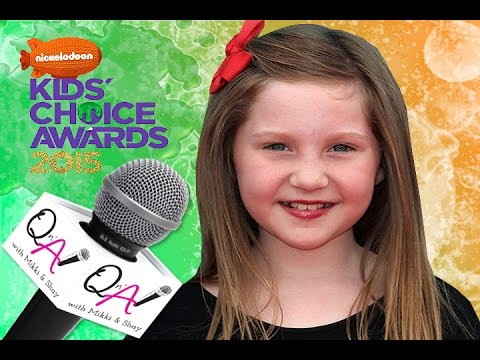 Ella anderson nickelodeon s henry danger kids choice awards gift suite 2015