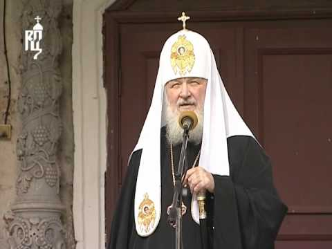 Патриарх Кирилл посетил Преображенский собор в Угличе