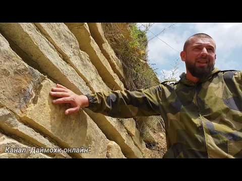 Поиски Ноева Ковчега. Али Басханов показывает свои находки.