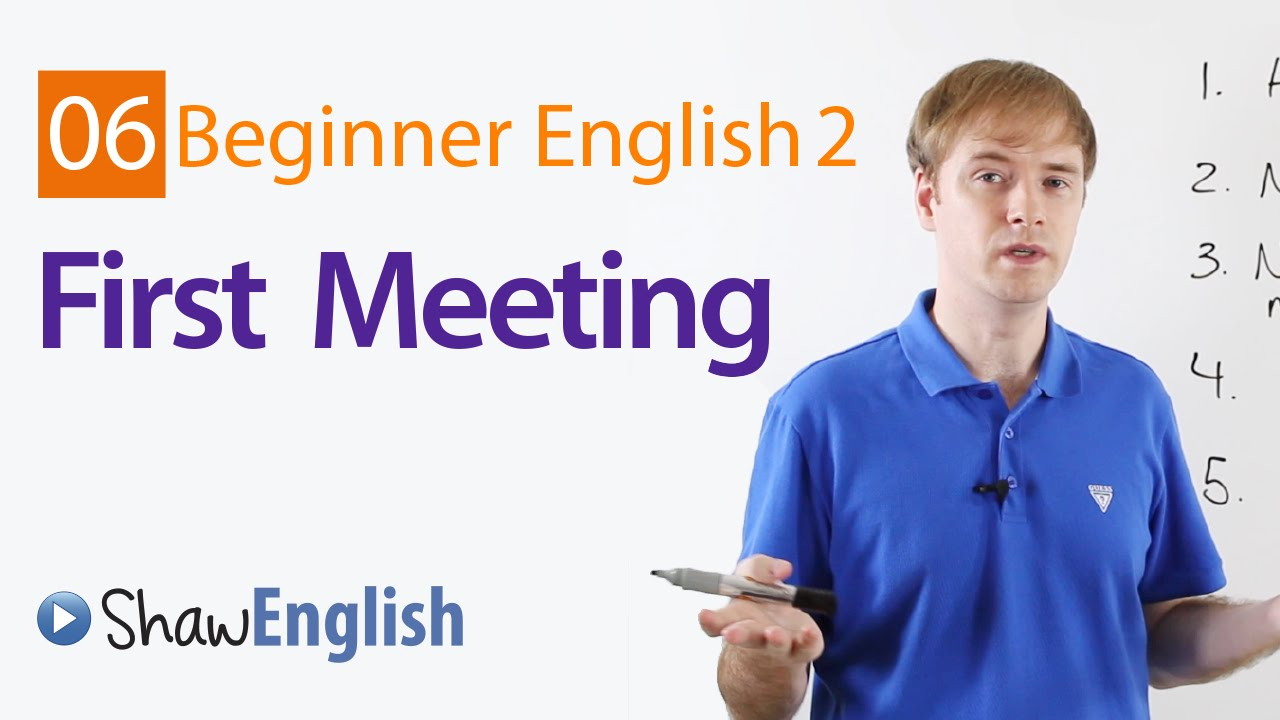 First Meeting With A Stranger In English Youtube