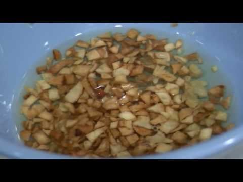 Food for the FLU, ASMR (Rendang with Rice Porridge)