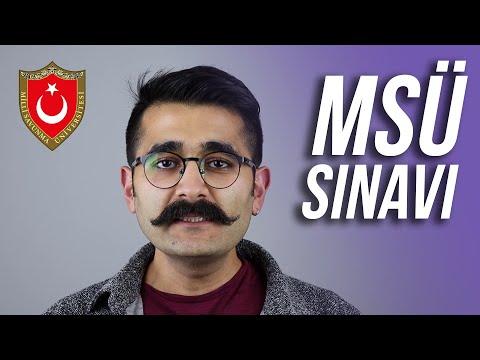 MSÜ SINAVI HAKKINDA BİLGİLER | Furkan Devran'la Sınava Doğru