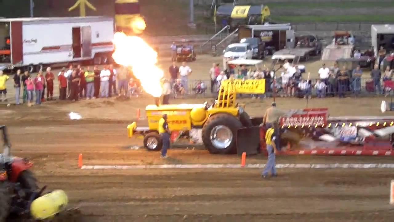 Minneapolis Moline Pulling Tractor Illinois State Fair