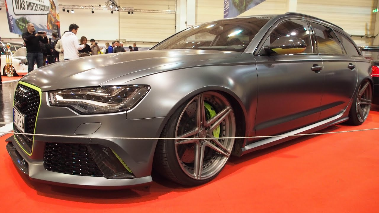 audi rs6 r 720 ps at essen motorshow exterior walkaround youtube. Black Bedroom Furniture Sets. Home Design Ideas