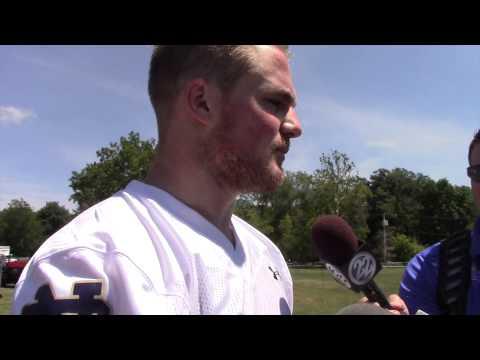 Irish247 Video: Linebacker Joe Schmidt