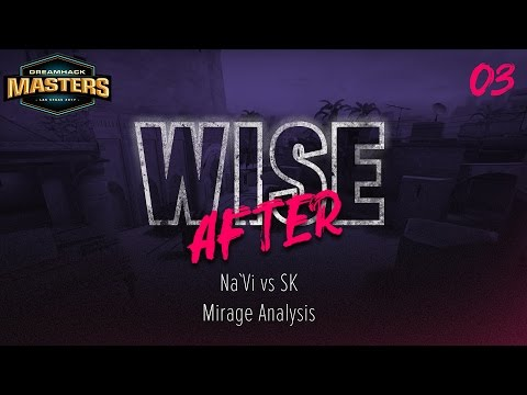 Wise after: DH Las Vegas 2017 - Na`Vi vs SK | Mirage Analysis (ENG SUBS)