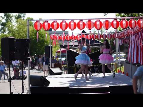 JPop girls band at Japanese Festival - Toronto