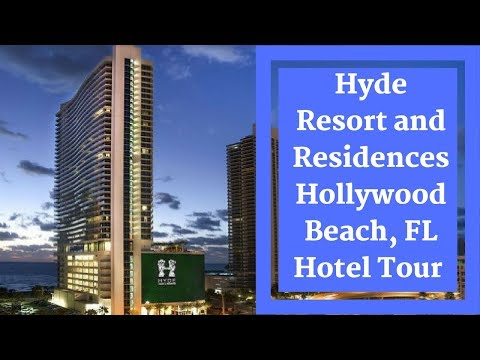 Hyde Resort and Residences Hollywood Beach Full Hotel Tour #TravelTips