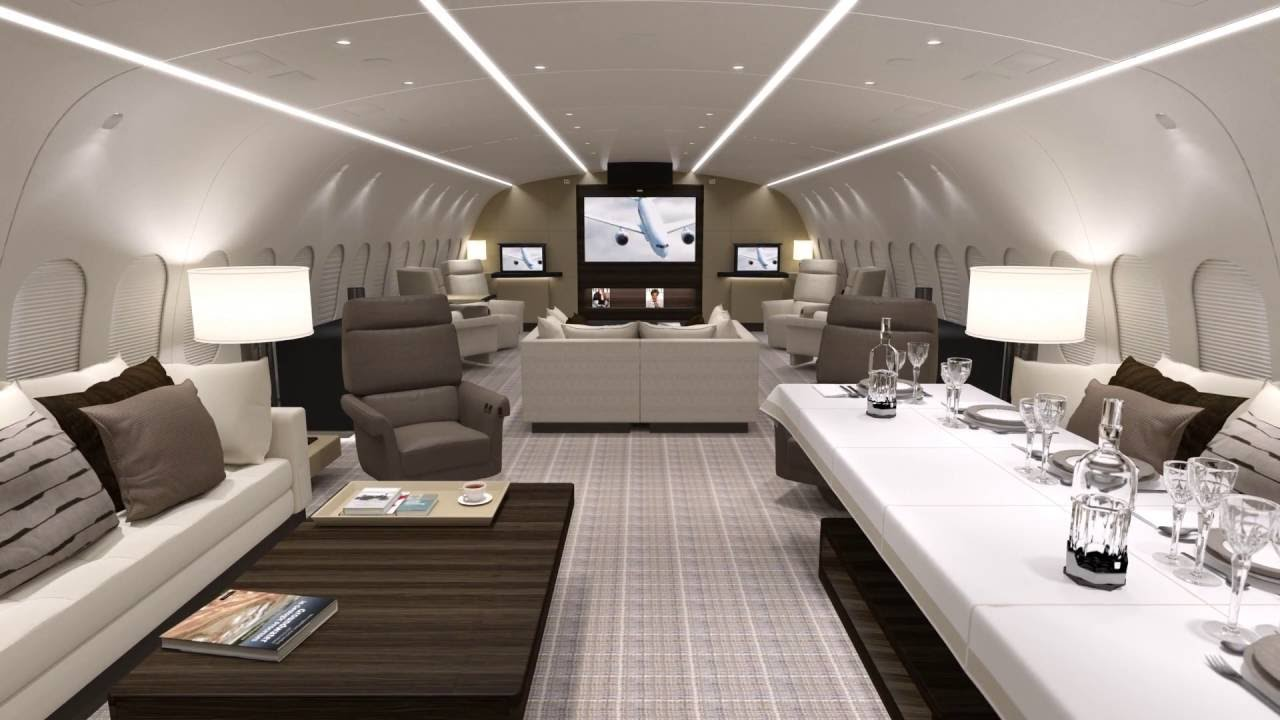 At Concept DreamJet Tour By Kestrel Aviation Management