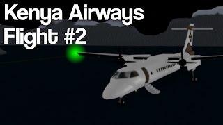 ROBLOX | Kenya Airways | Flight #2