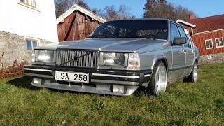 Volvo 764 GLE 1983 D24T. Start drive  walk around.