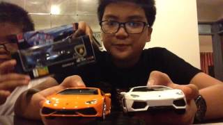 UNBOXING|Lamborghini Toy Models from petron!