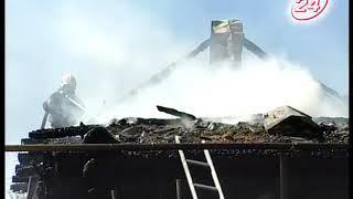Вспыхнул в миг: пожар в пос  Элеваторная гора