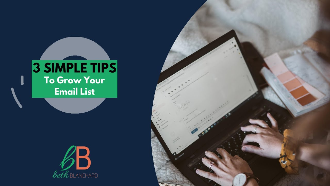 3 email tips to start growing your list