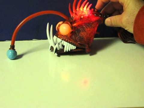 Sale item demo finding nemo light up flashing angler for Nemo light fish