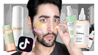 Viral TikTok Beauty / Skincare Products People Use WRONG! ✖  James Welsh