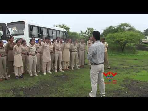 MORE THAN WOMEN FOREST OFFICER TAKING TRAINING IN SASAN - VTV