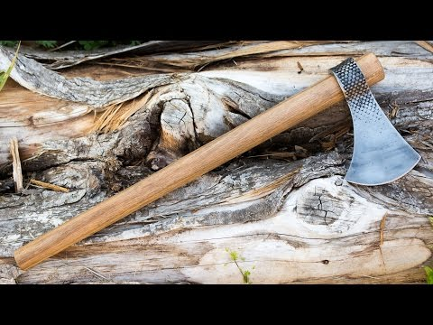 How to Forge a Farrier Rasp Tomahawk - Camp Hawk
