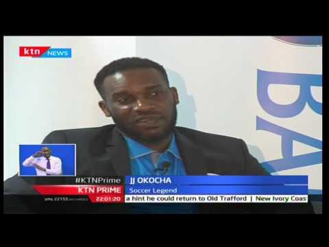 Footbal legend JJ Okocha in Kenya for Kenya Open