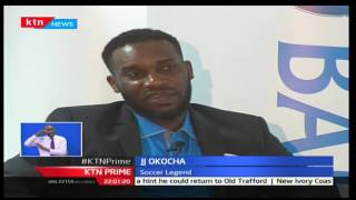 Footbal legend JJ Okocha in Kenya for Kenya Open