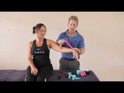 How to prepare, cut and specifically apply Kinesiology tape