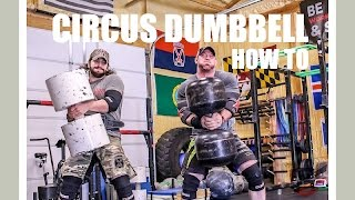 How To Circus Dumbbell Clean & Press
