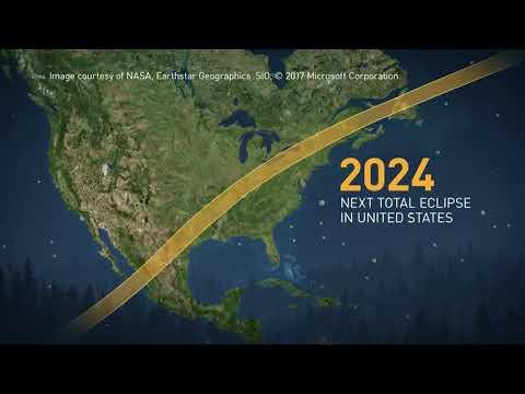 Path of April 8, 2024 solar eclipse