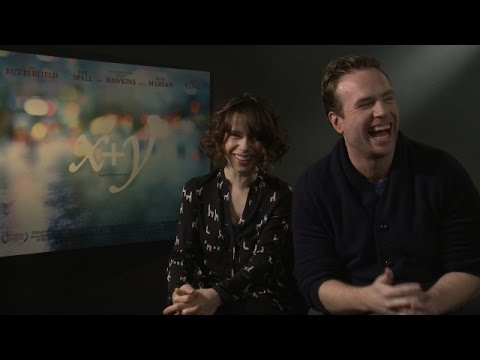 Sally Hawkins and Rafe Spall on X  Y
