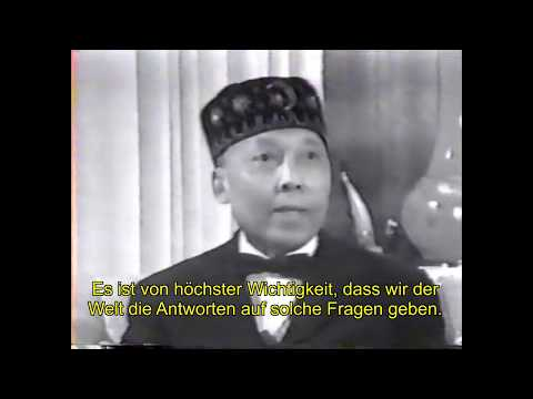 Elijah Muhammad Interview mit Irv Kupcinet (deutsch/german)